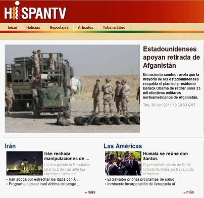 Spanish language TV channel Hispan