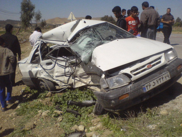 3 Iranians Die in Everey One Hour Because of Cars Accidents
