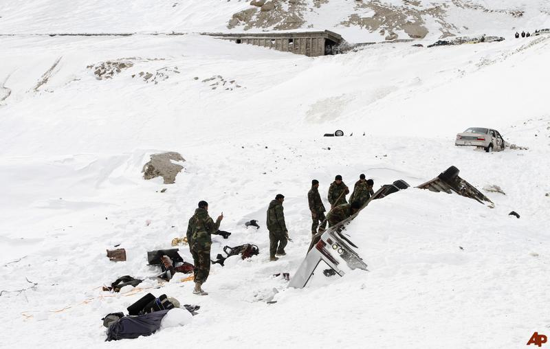 50 Dead And 145 Missing in Avalanche in Afghanistan