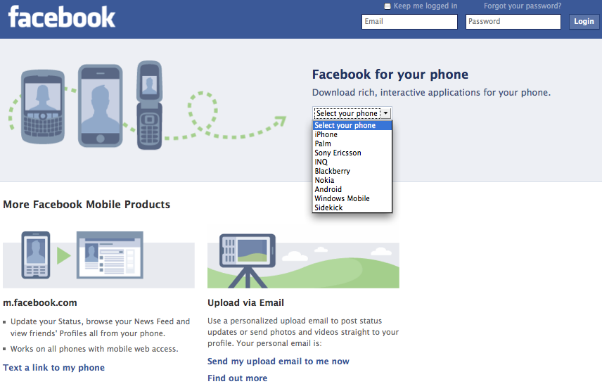 Facebook Allows to Show Ads in The Mobile Version
