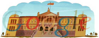 Google Celebrated The 300th Anniversary of Spain's National Library
