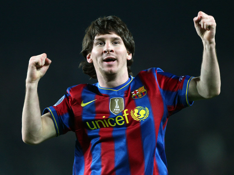Lionel Messi , the striker of Barcelona