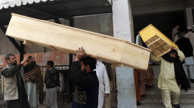 Nine Dead After a Bomb Blast During a Funeral in Northwest Pakistan
