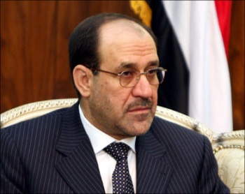 Nouri Al Maleki , the prime minister of Iraq
