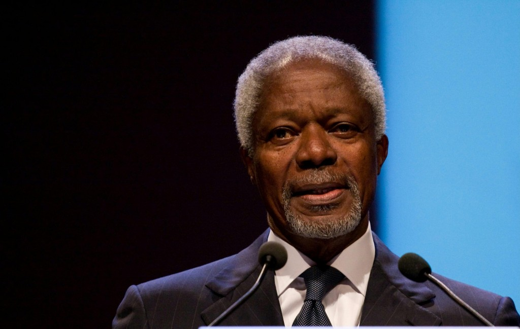 Peace Envoy Annan to Visit Tehran Next Week