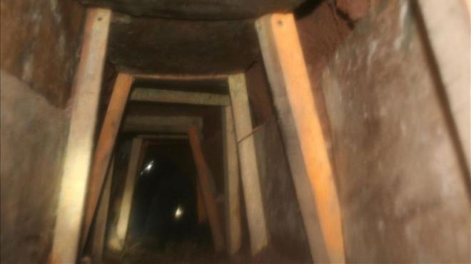 Tunnel Leading to Arizona Discovered With 240 kg of Marijuana