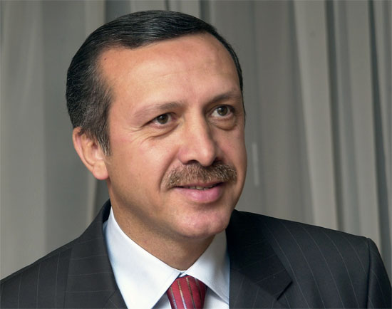 Turkish Prime Minister Erdogan Visits Tehran