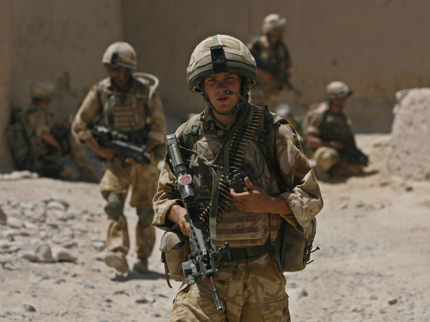 Two Soldiers Who killed in Afghanistan Were British