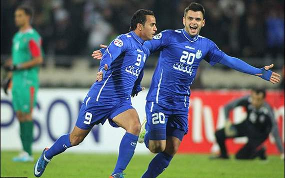 Esteghlal 1-2 Al Jazira, Blues Lost The Match in Tehran