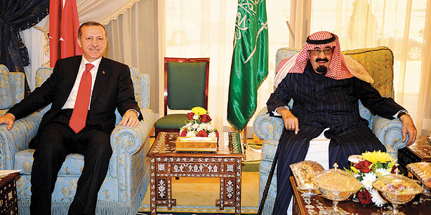 King Abdullah bin Abdul Aziz And Erdoğan Talked Over Regional Issues