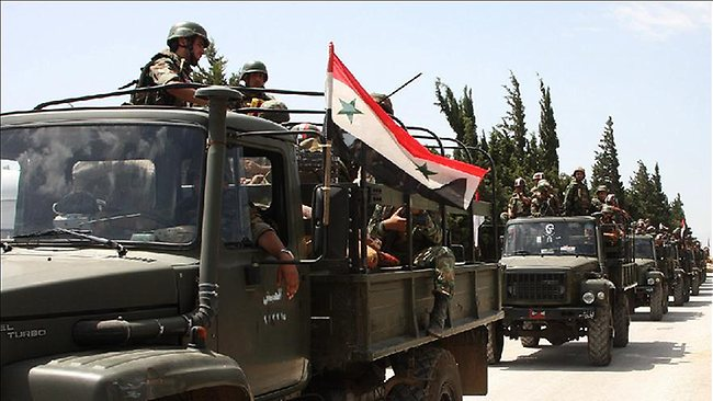 Syrian Army Moved to Other Regions