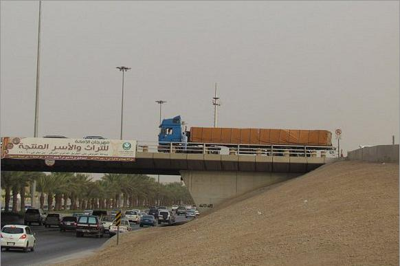 Young Man Throw Himself Off a Bridge in Eastern Riyadh