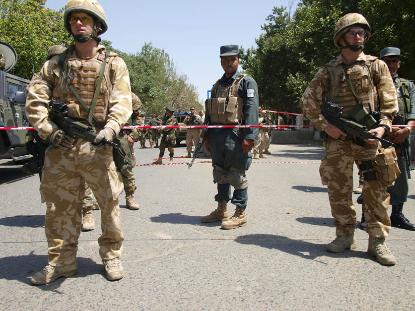 Afghan Forces Unable to Take Security Responsibilities