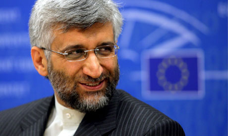 Iranian Chief Nuclear Negotiator Saeed Jalili