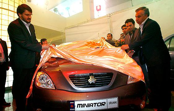 Iran's Car Market is For Local Manufacturers