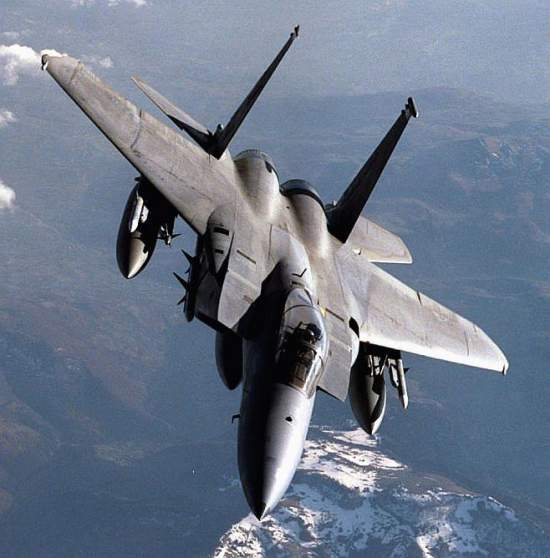 The F-15 Fighting Falcon Crashed in Tabuk