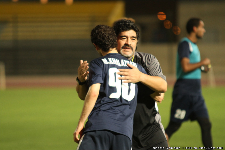 Diego Maradona Wants to Keep Mohammed Reza Khalatbari in Al Wasl