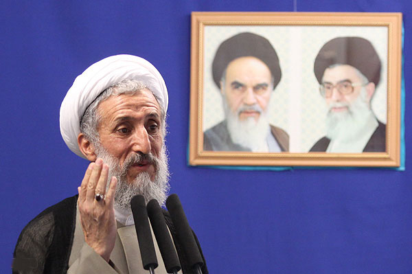 Hojjatoleslam Kazem Sedighi, interim Friday Prayer Leader for Tehran