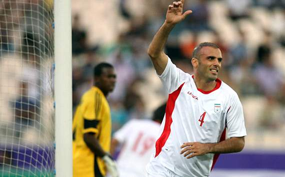 Jalal Hosseini, the player of Iran's national football team