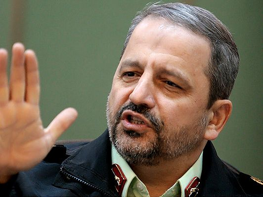 Iran Police Chief Iran Sees Decrease in Crime Rate