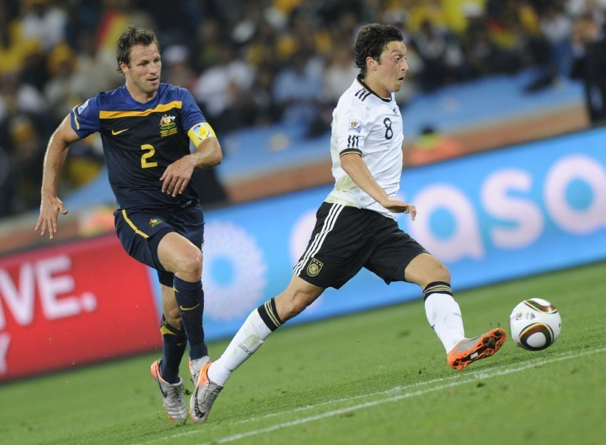 Mesut Özil Congratulates Spain on the Victory at Euro 2012