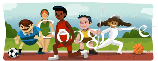 New Google Doodle Released for Opening Ceremony London 2012