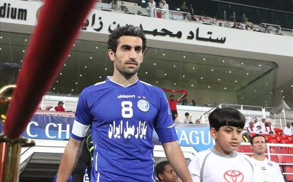 UAE Pro-League runners-up Al Nasr are trying to sign Mojtaba Jabbari