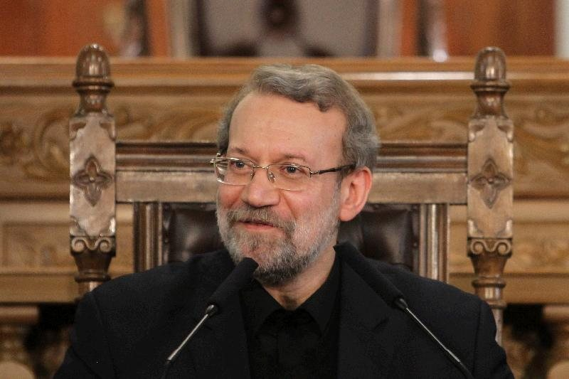 Ali Larijani Mohamed Morsi's Presence in Iran is Useful for Mutual Ties