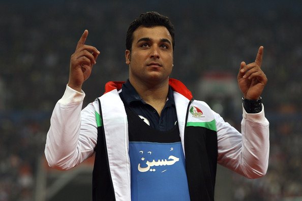 Ehsan Hadadi Earned The Silver Medal in Men's Discus