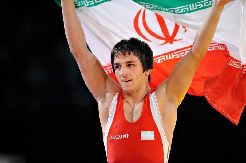 Iran's Hamid Sourian Claimed Gold Medal in Men's 55kg Greco-Roman