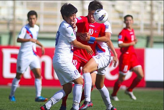 2012 AFC U-16 Championship Tehran South Korea and North Korea Won
