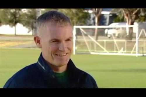Australia U-16 head coach Alistair Edwards