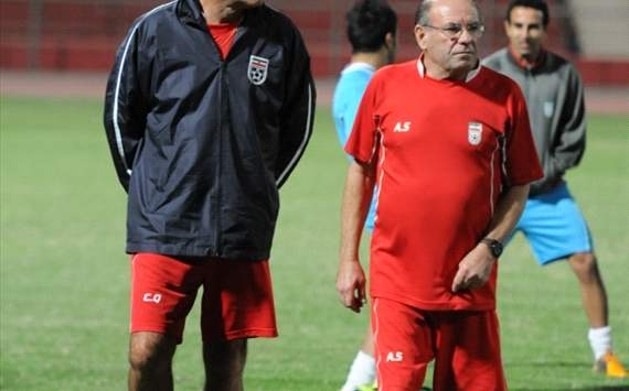 Iran national football team assistant coach António Simões