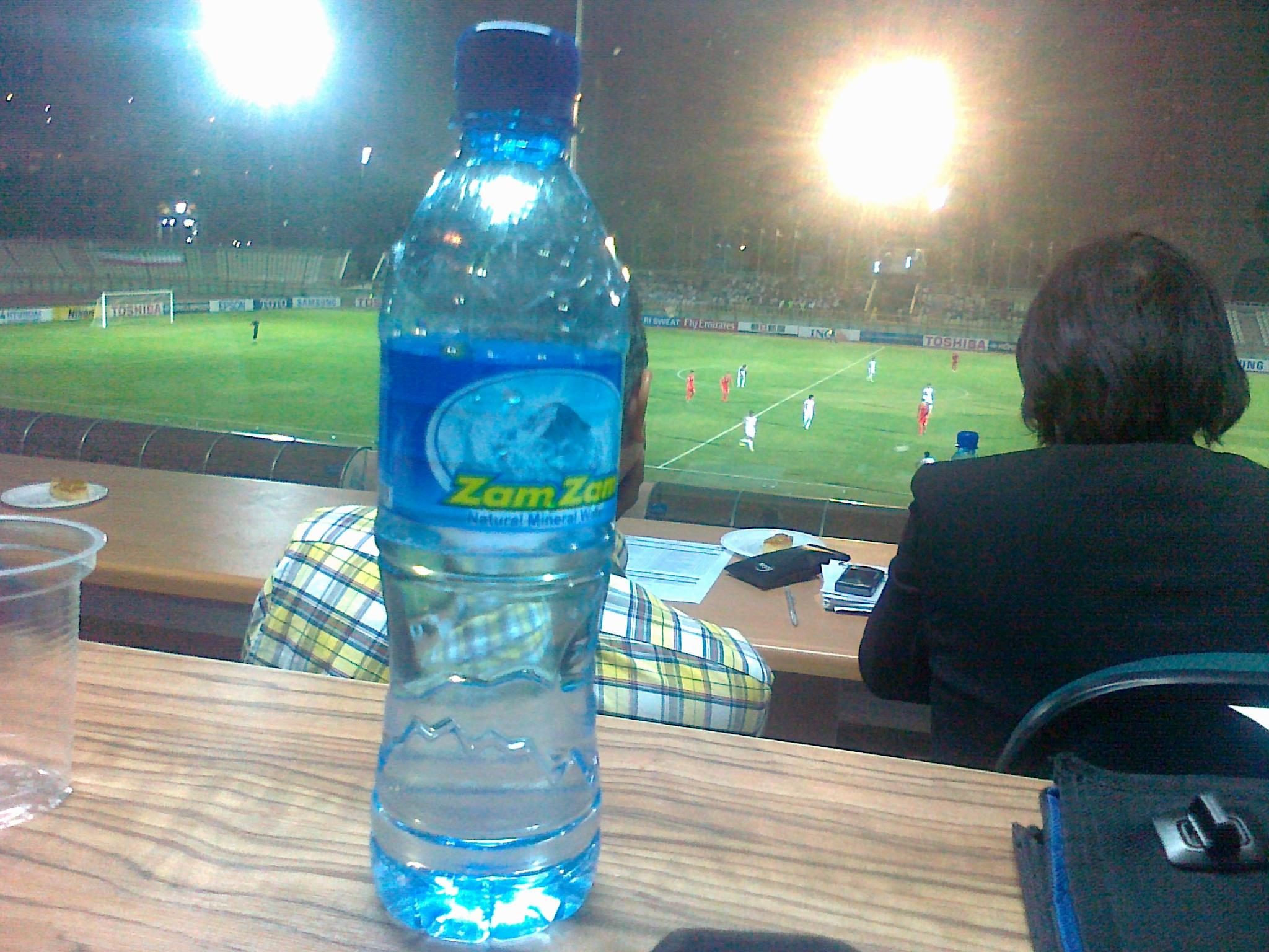 Pocari Sweat or Iranian Zam Zam