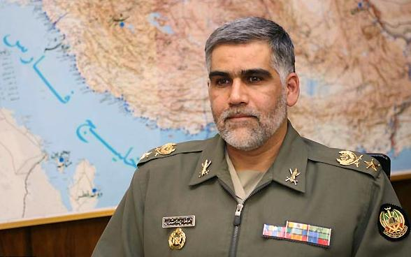 The Iranian Army Ground Force Brigadier General Ahmad Reza Pourdastan