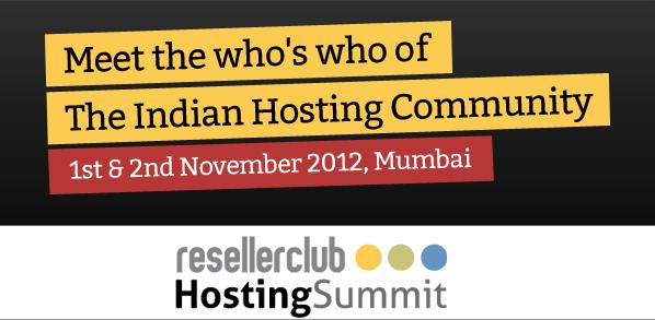 The ResellerClub Hosting Summit (RCHS)