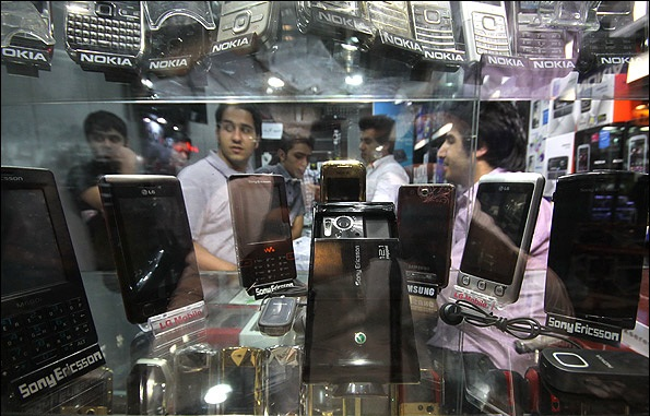 Iran Imports Cell Phones