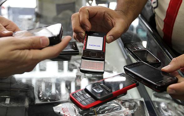 Nokia Leading Cell Phone Market in Iran