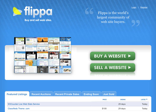 Flippa Sold more than $22 Million Worth Of Websites in 2012