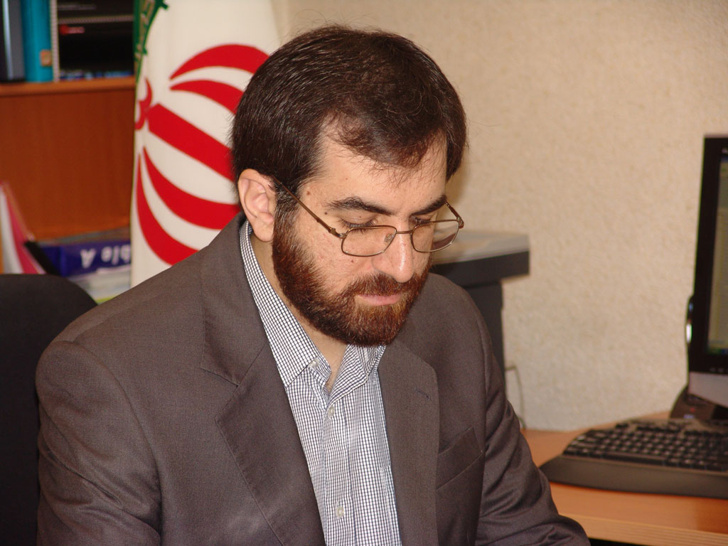Mehdi Akhavan Bahabadi, the Secretary General of the Supreme Council on Cyberspace and the Director of the Cyberspace Center