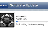 Apple Releases iOS 6.1 Beta 5 For Developer Download