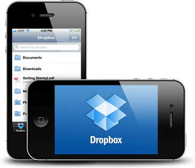 Dropbox now more user friendly of iOS