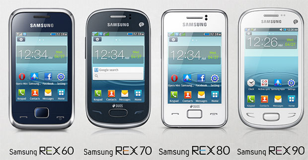 Samsung releases Rex in hopes of dominating smartphone market