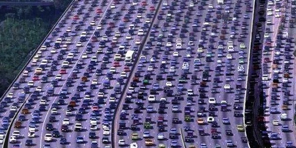 Latest studies show traffic jams cost American consumers over $100 billion in wasted time and fuel