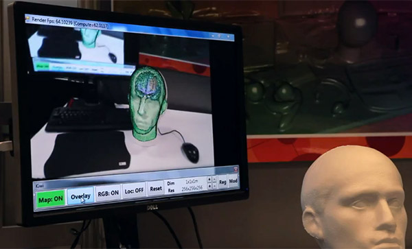 Brain Surgery using a Microsoft Kinect
