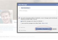 Facebook is charging users to send messages to celebrities and strangers