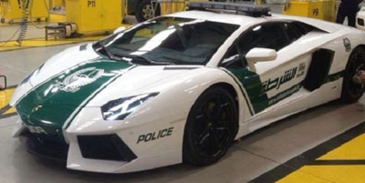 Lamborghini patrol car will be added to Dubai's police fleet