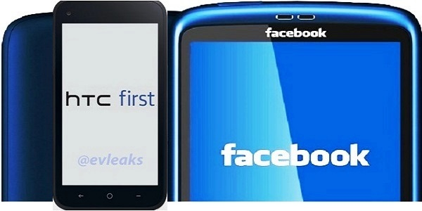 Facebook Home on HTC First Smartphone?