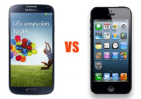 Samsung's Galaxy S4 vs. Apple's iPhone 5