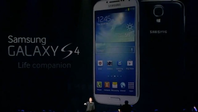 The Galaxy S4: Set to Take the U.S By Storm